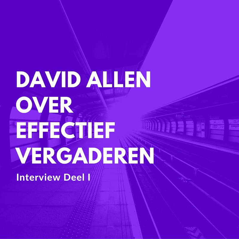 david allen over holacracy meetings