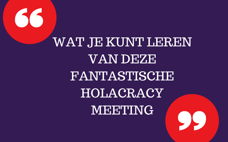 holacracy meeting
