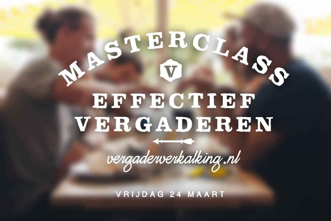 masterclass effectief vergaderen
