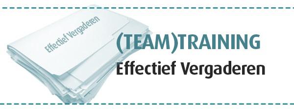 teamtraining effectief vergaderen vergaderverkalking